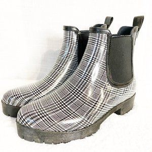 NEW JEFFREY CAMPBELL Cloudy Chelsea Rain Boots